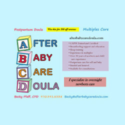 After Baby Care Doula