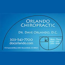 Dr. Dave Orlando, D.C.