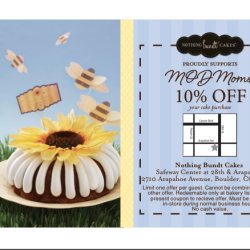 Nothing Bundt Cakes – Boulder (10%)