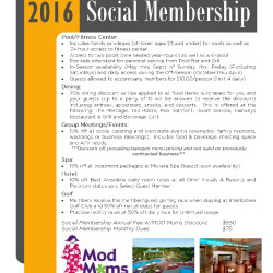 OMNI Interlocken Resort – Social Membership