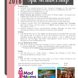 OMNI Interlocken Resort – Spa Membership