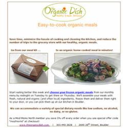 The Organic Dish